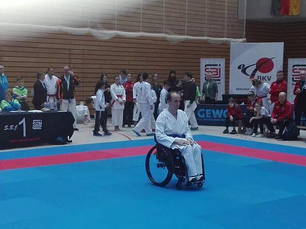 International Berliner Open - Para-Karate in Deutschland bewegt sich